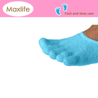 5 Toe Moisturizing Gel Socks