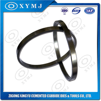 Polished tungsten carbide o ring for mechanical sealing