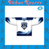 Best design ice hockey jersey with custom made logos for school team