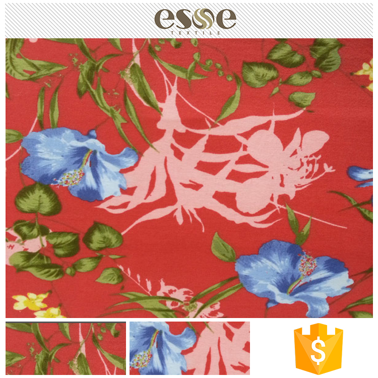 Trade assured new design wholesale floral clothing fabric