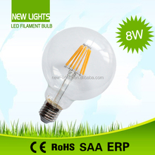 LED Edison Filament Globe Bulb Tungsten Lamp AC220-240V