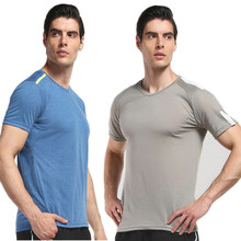Wholesale t Shirt Mens Fitness Custom Workout Shirts Training Dry Fit Shirt For <strong>Sport</strong>