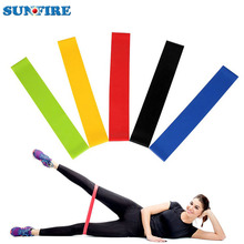 5 mini workout exercise stretching elastic resistance loop bands set with custom logo