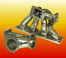 Car turbo exhaust manifold for OPEL C20XE 16V