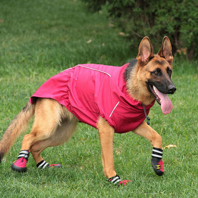Large Breed Dogs Waterproof Breathable Coats Winter Outdoor Jackets For Labrador German Shepherd Dog