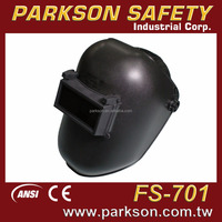 TAIWAN Outstanding Flip Up Window Black UV Protection Welding Helmet CE EN175 ANSI Z87.1 With Price FS-701
