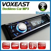 New multi-color lighting Car car stereo bluetooth with USB/SD and detachable panel