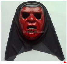 Blood red horror halloween party mask/plastic halloween mask