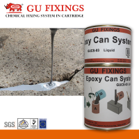 Crack pouring epoxy adhesive gap filling repairing glue