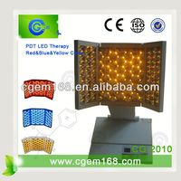 mini PDT red yellow blue light therapy pdt pimple removal led skin care home use facial equipment for skin rejuvenation