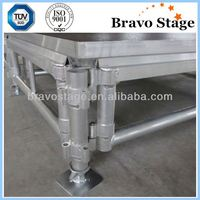Aluminum adjustable stage platform,removable platform stage