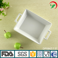 Stock For Sales Ceramic Porcelain Fruit Plate Serving Tray