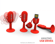 Silicone pendrive cartoon