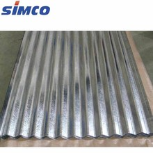 Galvanized Corrugated Roofing sheet / ppgi Roofing sheet price per sheet of zinc