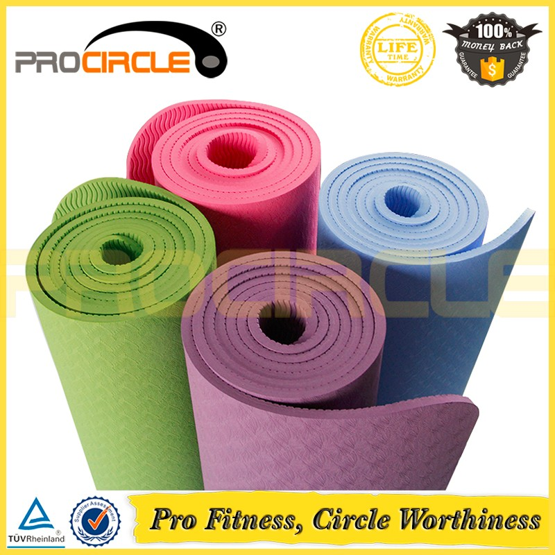 New Design Eco Friendly Exercise Yoga Mat