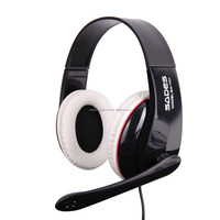 Noise cancelling headset light up headphones with microphone