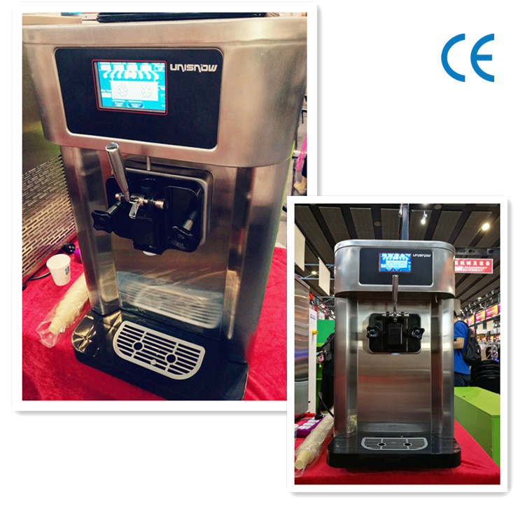 Unisnow! maquina de yogurt congelado soft ice cream machine commercial use vending machine