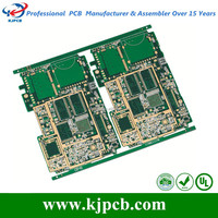 PCB control board design and assembly