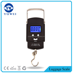 50kg Digital Portable Scale Luggage Fishing Hanging Hook Weighing Scales