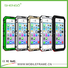 High Quality Shockproof Dustproof Water Resistant Aluminum Alloy Metal Waterproof Phone Case for zte grand x z777 cricket