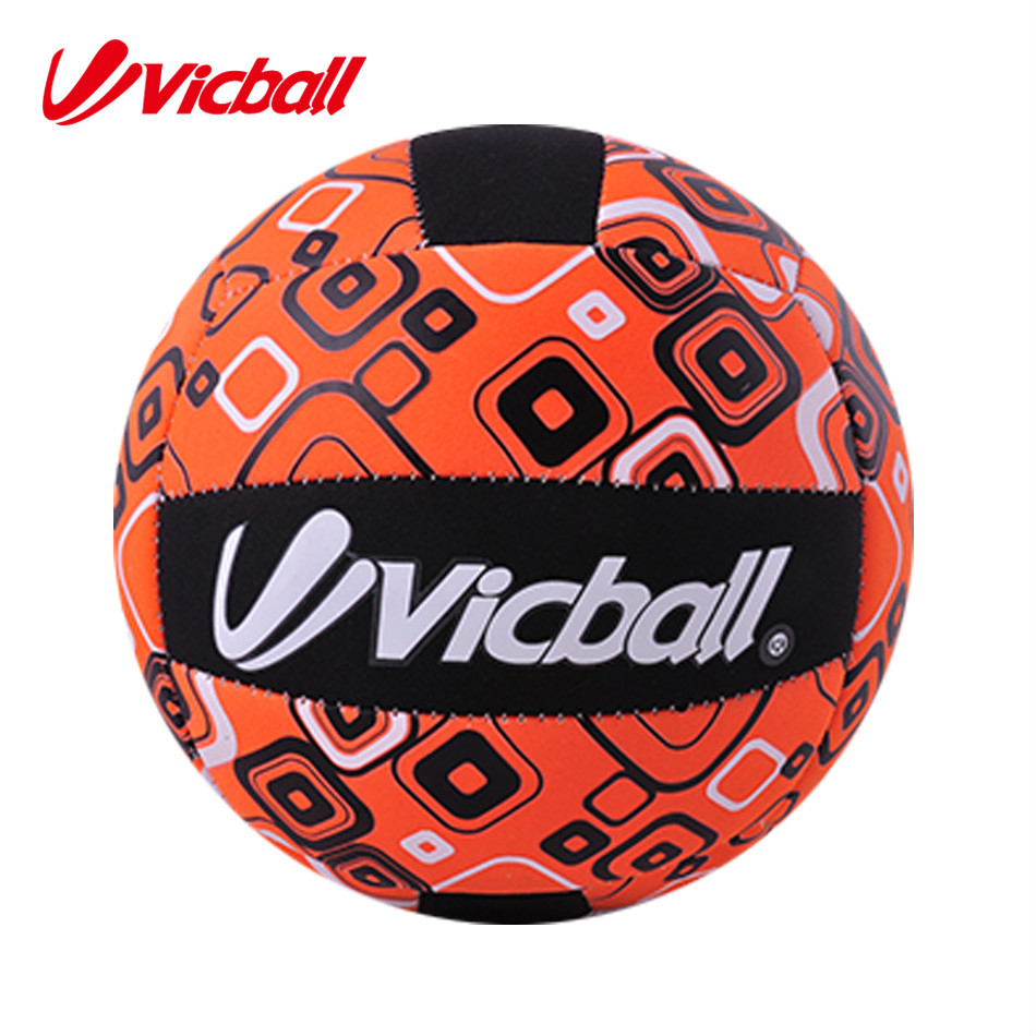 colorful neoprene match volleyball