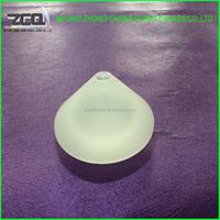 CNC Dull Polishing Heat Resistance Quartz Glass Ware