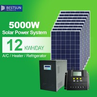 BESTSUN new disign export solar energy system5000W