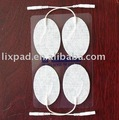 High quality electrode pads with all-weather gel