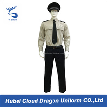 Cheap law enforcement uniforms OEM security guard uniform color