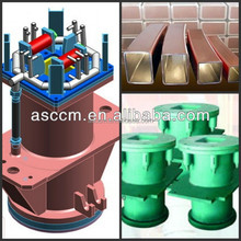 Cheap price of copper mould tube for continuous casting machine(CCM)