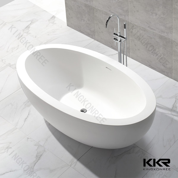 KKR very small solid surface free standing bathtubs