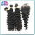 7A Cheap Indian Deep Wave Remy Hair Bundles With Closure Human Hair Weave For Black Women
