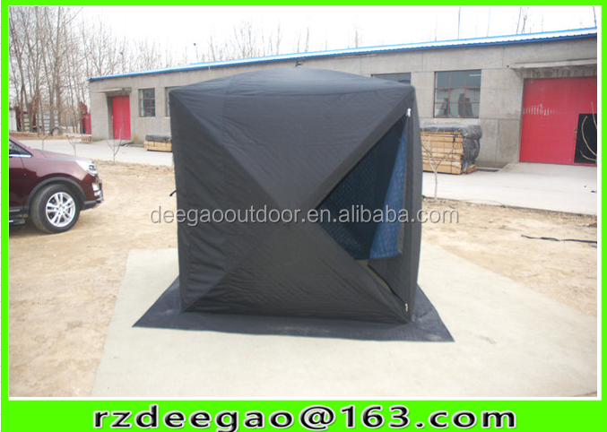 Camping equipment pop up quick open ice cube winter fishing <strong>tent</strong>