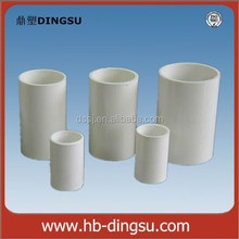 Wholesale plastic water supply high pressure pvc coupling pipe joints