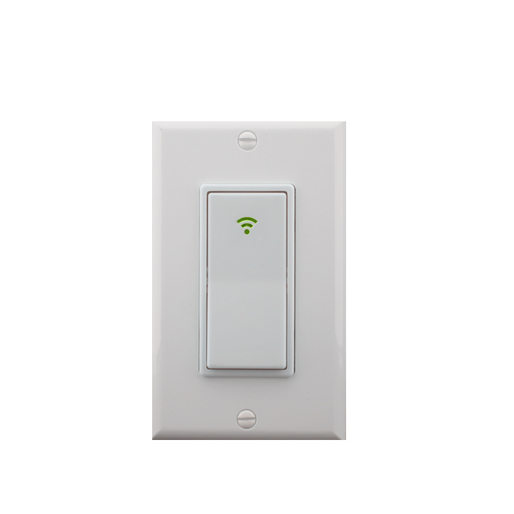 Smart wall Mounted Power <strong>Light</strong> Switch Supports Alexa and Google Home Voice Wifi <strong>Control</strong>