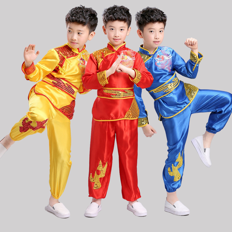 New High Quality Stage Folk Dance Costumes For Children