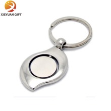 Spinning blank acrylic key chains made in China