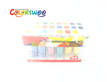 Hot Sale 24pcs 22ml Acrylic Paint Set for Drawing and Painting