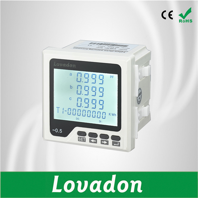 110V Electric Lcd Display price current meter Three Phase Current Voltage Frequency Led Electronic Smart Digital Energy Meter