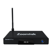 Zoomtak V Plus S912 Satellite Receiver with Network Connection Android 6.0 Tv Box In North America