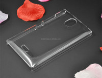 factory price hard transparent cell phone pc case for Nokia lumia X