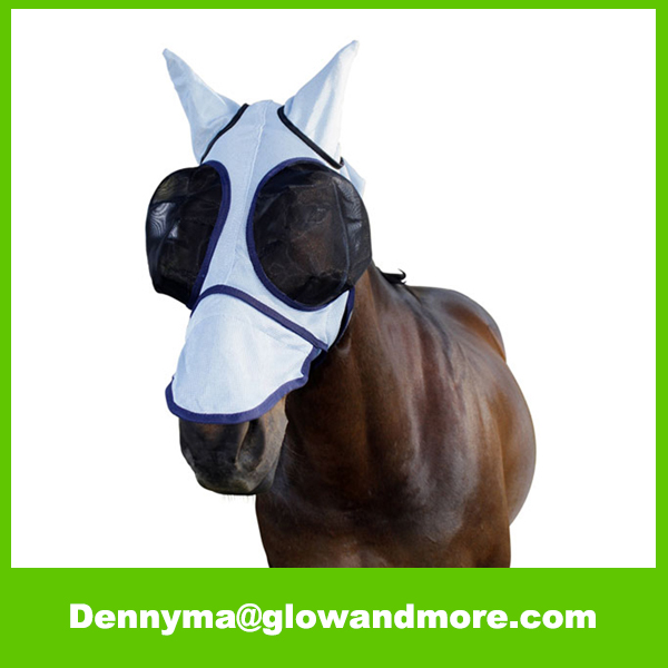 Air Mesh Fly Bonnet Horse Fly Mask