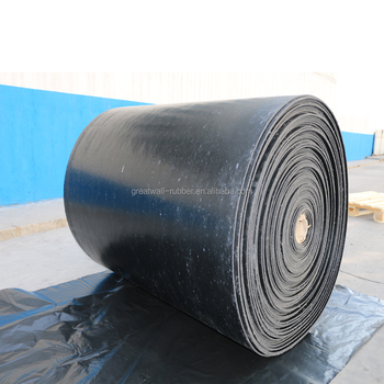 Masticated Fiber Reinforced Rubber Sheets With Super Abrasion Ability