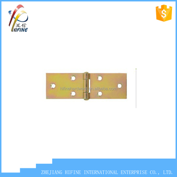 hot sale color zinc plated small door hinge door hinge solid hinge