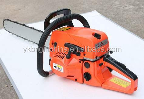 Hot newest Chain saws nice popular chainsaw 5200 powerful manual work