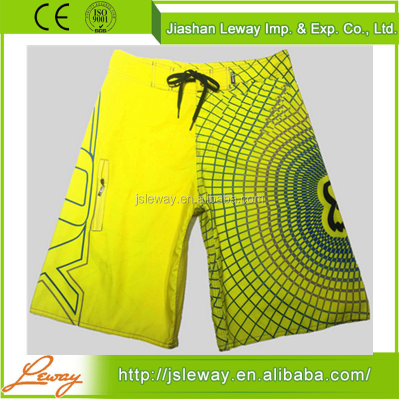 4 way stretch board microfiber mens boxer sweat shorts wholesale