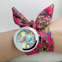 WOMEN WRIST WATCH WITH CHIFFON BAND FOR FASHIONABLE GIRLS