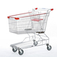 100 Litre supermarket trolley shopping carts from Changshu factory