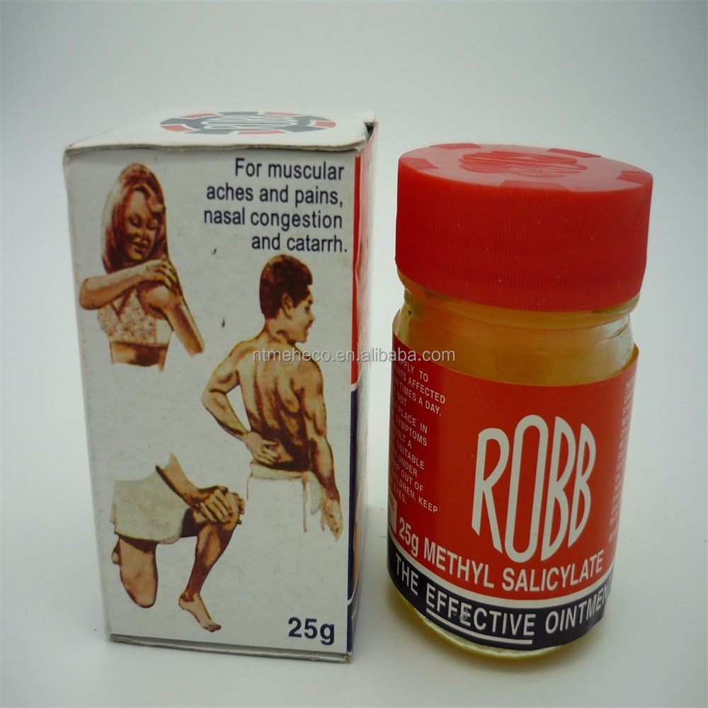 CHINA 25G GLASS BOTTLE ROBB EFFECTIVE OINTMENT ESSENTIAL BALM FOR ANTIMICROBIAL