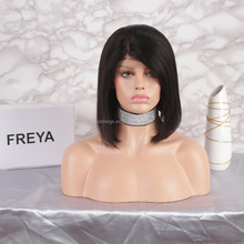 Popular new style silk hair cheap lace front wig